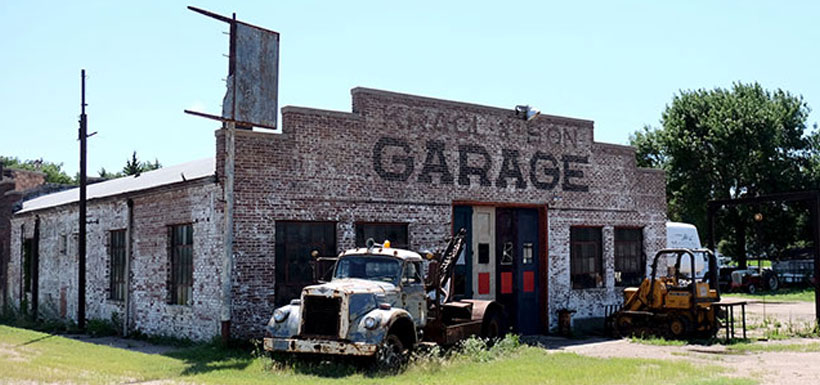 old mechanic shop